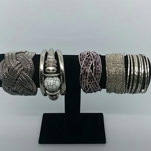 5 piece clasp bracelet bundle